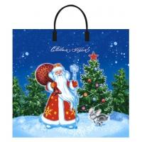 Пакет новогодний Дарите счастье, 37х34 см, 80 мкм