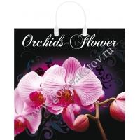 """Пакет """"Орхидея"""", 40х40, 90 мкм"""