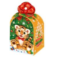 """Новогодняя упаковка """"Подарок"""", 800-1000 г"""