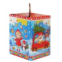 """Новогодняя упаковка """"Мультик 1.0"""", 1000 гр, картонная подарочная коробка для конфет"""