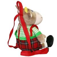 Детский подарочный рюкзак ПЕТРОВИЧ, 1200 гр, текстильная новогодняя упаковка 2021 год быка
