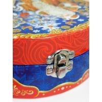 """Подарочная коробка """"НГ Кейс МАЛЫЙ"""" с тиснением, 600 г, новогодняя упаковка для конфет"""