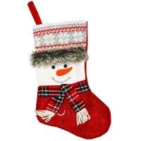 Рождественский носок 35см
